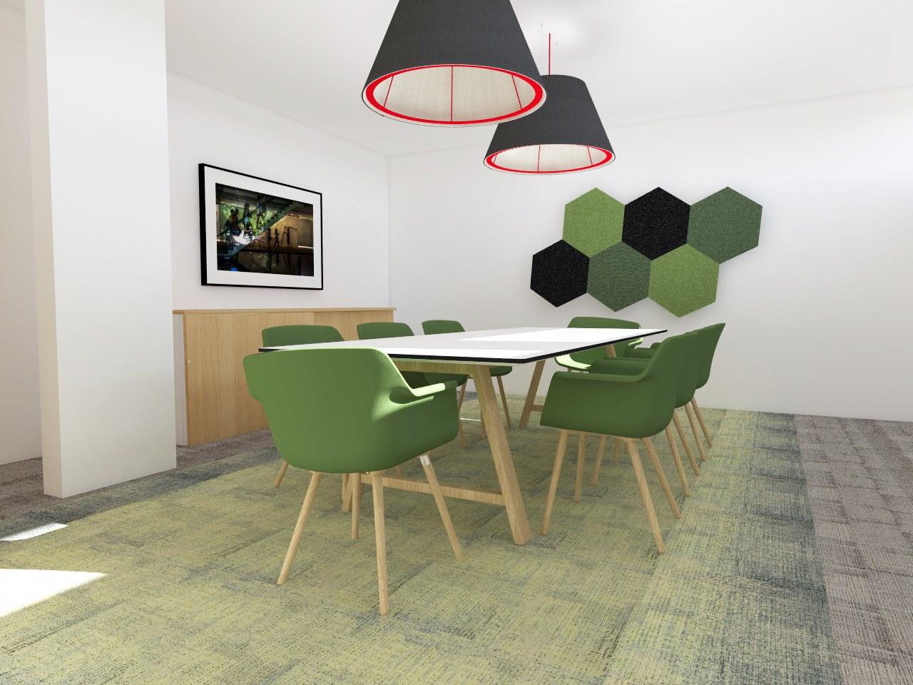 Aménagement open space adapté fournier ergo concept annecy