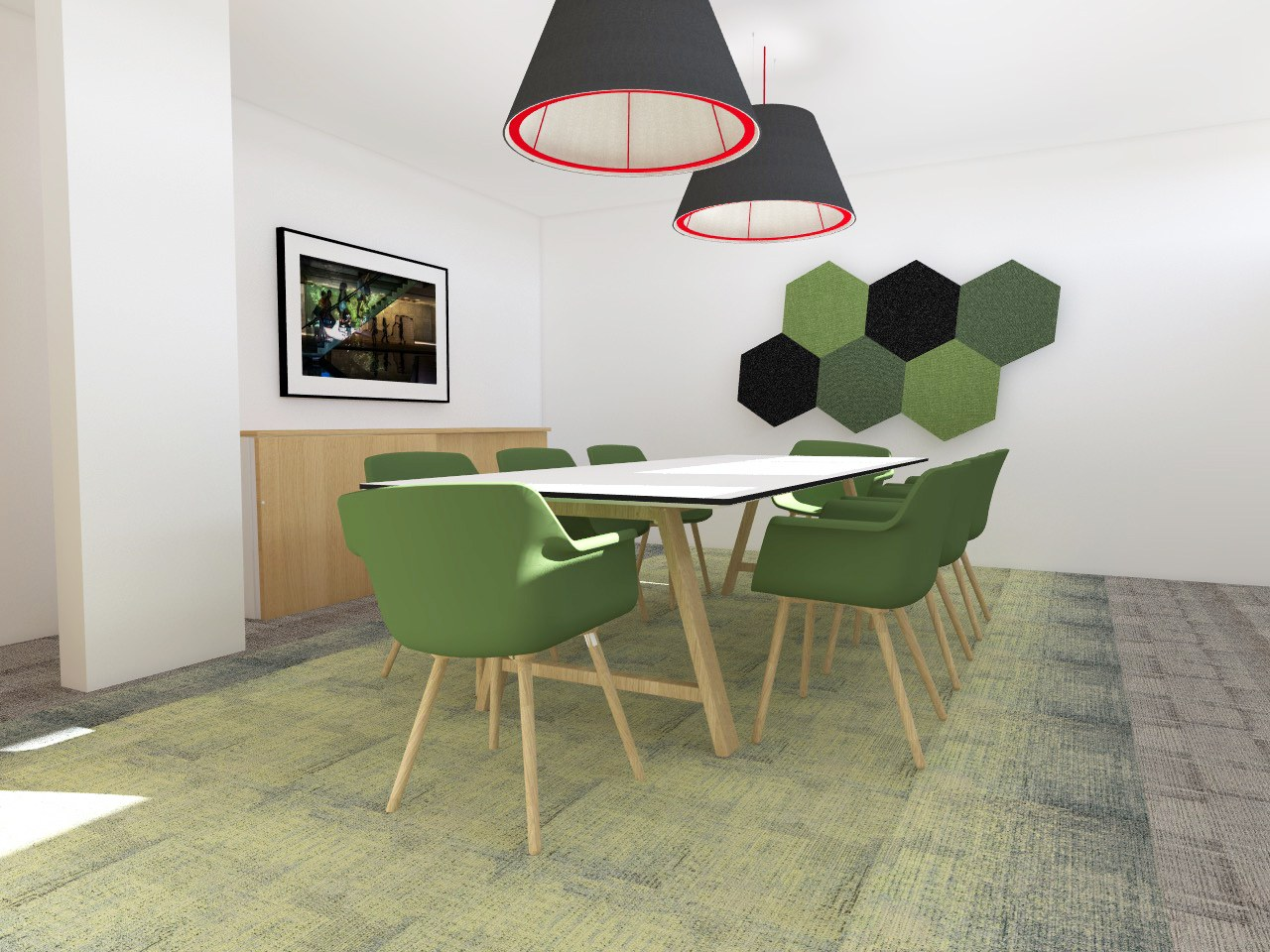 am nagement de bureaux open space smaltdesign. Black Bedroom Furniture Sets. Home Design Ideas